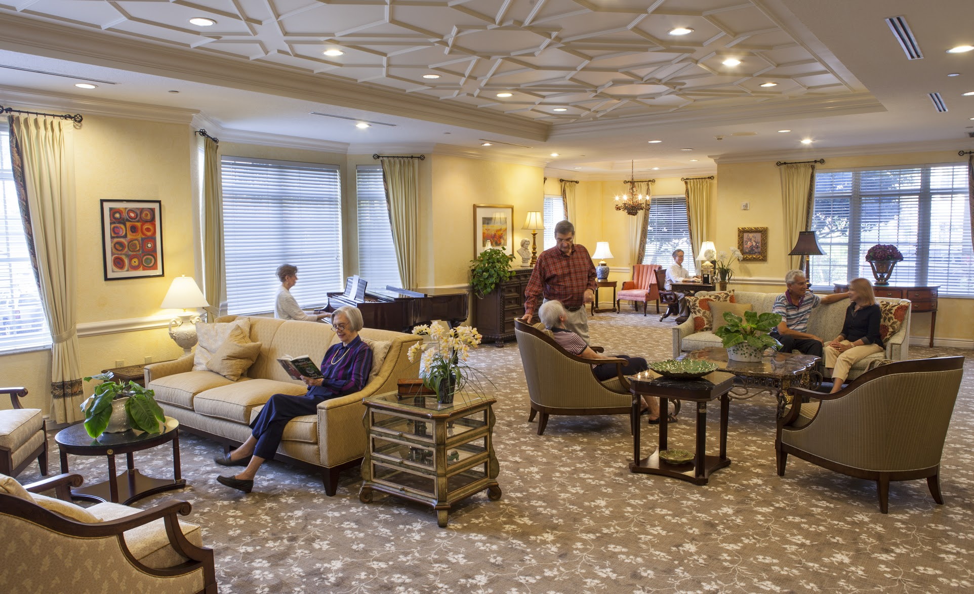 Sarasota Waterfront Living Art Retirement